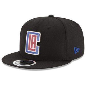 New Era LA Clippers Color Metal Logo Snapback Hat